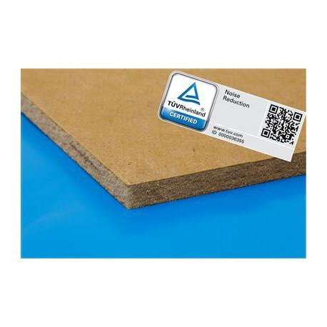 Parketfelt 10dB softboard platen 10 mm